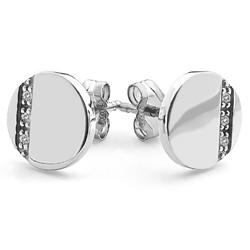 Obrázek è. 2 k produktu: Støíbrné náušnice Hot Diamonds Silhouette Circle