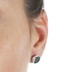 Obrázek è. 4 k produktu: Støíbrné náušnice Hot Diamonds Silhouette Circle