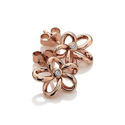 Obrázek è. 8 k produktu: Støíbrné náušnice Hot Diamonds Paradise Rose Gold