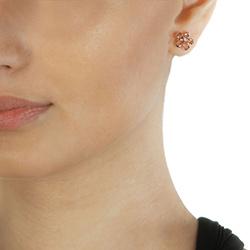 Obrázek è. 4 k produktu: Støíbrné náušnice Hot Diamonds Paradise Rose Gold