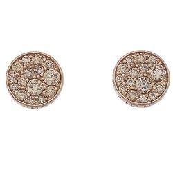 Obrázek è. 2 k produktu: Støíbrné náušnice Hot Diamonds Emozioni Scintilla Champagne Rose Gold