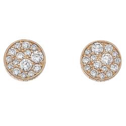 Obrázek è. 2 k produktu: Støíbrné náušnice Hot Diamonds Emozioni Scintilla Rose Gold