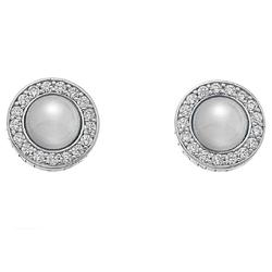 Obrázek è. 2 k produktu: Støíbrné náušnice Hot Diamonds Emozioni Giove Pearl