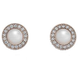 Obrázek è. 2 k produktu: Støíbrné náušnice Hot Diamonds Emozioni Giove Pearl Rose Gold