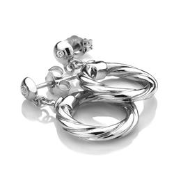 Obrázek è. 4 k produktu: Støíbrné náušnice Hot Diamonds Breeze