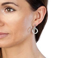Obrázek è. 2 k produktu: Støíbrné náušnice Hot Diamonds Breeze