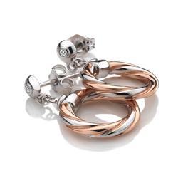 Obrázek è. 2 k produktu: Støíbrné náušnice Hot Diamonds Breeze Rose Gold