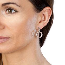 Obrázek è. 4 k produktu: Støíbrné náušnice Hot Diamonds Breeze Rose Gold