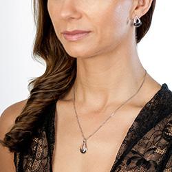 Obrázek è. 4 k produktu: Støíbrné náušnice Hot Diamonds Journey Large Rose Gold