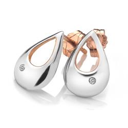 Obrázek è. 2 k produktu: Støíbrné náušnice Hot Diamonds Journey Rose Gold