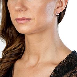 Obrázek è. 4 k produktu: Støíbrné náušnice Hot Diamonds Journey Rose Gold