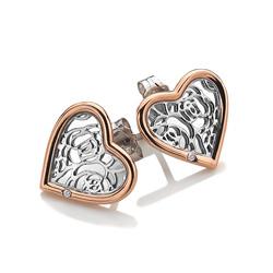 Obrázek è. 2 k produktu: Støíbrné náušnice Hot Diamonds Luxury DE530
