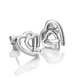Obrázek è. 2 k produktu: Støíbrné náušnice Hot Diamonds Love DE531