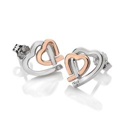 Obrázek è. 2 k produktu: Støíbrné náušnice Hot Diamonds Love DE532
