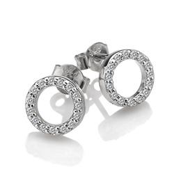 Obrázek è. 2 k produktu: Støíbrné náušnice Hot Diamonds Love DE534