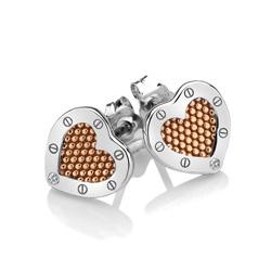 Obrázek è. 2 k produktu: Støíbrné náušnice Hot Diamonds Love DE538