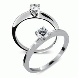 Obrázek č. 1 k produktu: Briliantový prsten Danfil DF1232