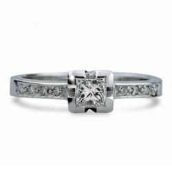 Obrázek č. 1 k produktu: Briliantový prsten Danfil DF1645