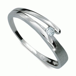 Briliantový prsten Danfil DF1716