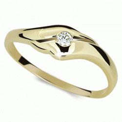 Briliantový prsten Danfil DF1838Z