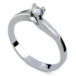 Prsten s briliantem Danfil DF1854