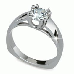Obrázek č. 2 k produktu: Prsten s briliantem Danfil DF1888