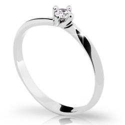 Prsten s briliantem Danfil DF1907