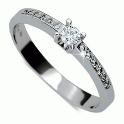 Briliantový prsten Danfil DF1917