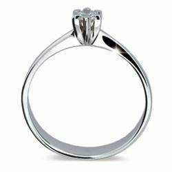Obrázek č. 1 k produktu: Prsten s briliantem Danfil DF1953