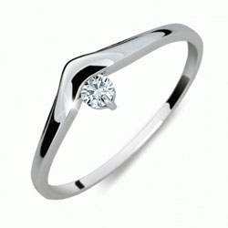 Briliantový prsten Danfil DF2016