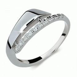 Prsten s brilianty Danfil DF2048