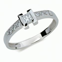 Prsten s brilianty Danfil DF2062