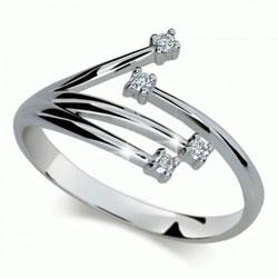 Prsten s brilianty Danfil DF2063