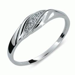 Prsten s brilianty Danfil DF2084