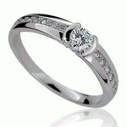 Briliantový prsten Danfil DF2106