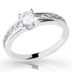 Prsten s brilianty Danfil DF2146