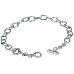 Nбramek Hot Diamonds Charm Classic Silver