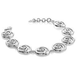 Obrázek è. 2 k produktu: Støíbrný náramek Hot Diamonds Eternity Spiral DL246
