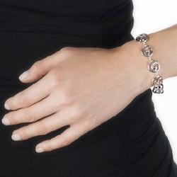 Obrázek è. 4 k produktu: Støíbrný náramek Hot Diamonds Eternity Spiral DL246
