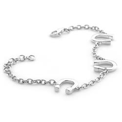 Obrázek è. 2 k produktu: Støíbrný náramek Hot Diamonds Lucky