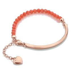 Obrázek č. 1 k produktu: Stříbrný náramek Hot Diamonds Festival Coral Rose Gold