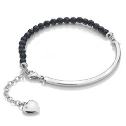 Obrázek è. 2 k produktu: Støíbrný náramek Hot Diamonds Festival Black Onyx