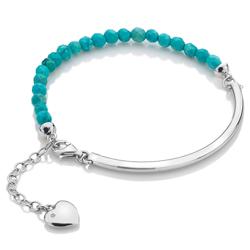 Obrázek è. 2 k produktu: Støíbrný náramek Hot Diamonds Festival Turquoise