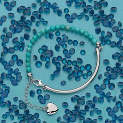 Obrázek è. 6 k produktu: Støíbrný náramek Hot Diamonds Festival Turquoise
