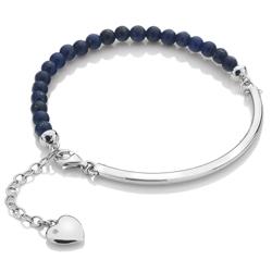 Obrázek è. 2 k produktu: Støíbrný náramek Hot Diamonds Festival Blue Lapis