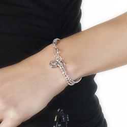 Obrázek è. 2 k produktu: Støíbrný náramek Hot Diamonds Garland Bead