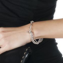 Obrázek è. 2 k produktu: Støíbrný náramek Hot Diamonds Deluxe Garland Bead