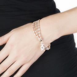 Obrázek è. 2 k produktu: Støíbrný náramek Hot Diamonds Deluxe Garland Bead Rose Gold
