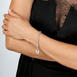 Obrázek è. 4 k produktu: Støíbrný náramek Hot Diamonds Love Lock