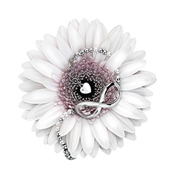 Obrázek è. 2 k produktu: Støíbrný náramek Hot Diamonds Infinity Bead Pearl Large